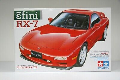 Tamiya 24110 1/24 Scale Mazda RX-7 Type R Efini FD3S 13B-REW Turbo Model Kit JP