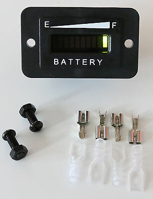 2 36 Volt Battery Charge Indicator Golfcart,Boat,Solar,Forklift PRO12-48M ™ Accessories & Gear