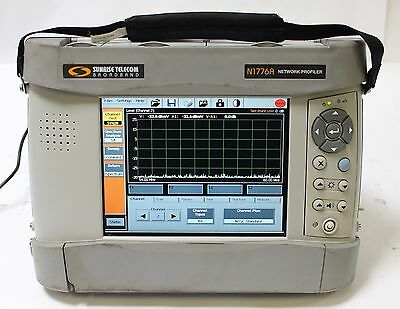 Sunrise Telecom CaLan N1776A Network Profiler Cable Tester, Signal Level Meter