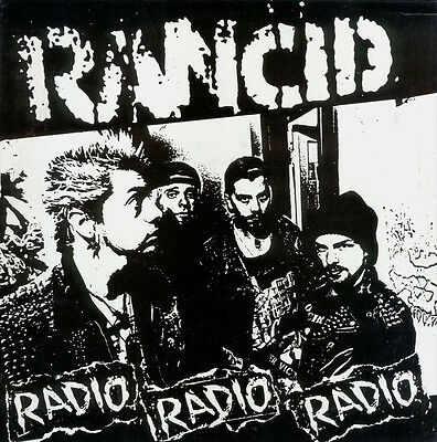Parche imprimido /Iron on patch, Back patch, Espaldera / - Rancid, C