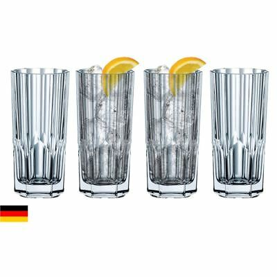 Nachtmann Crystal - Aspen Long Drink 280ml set of 4 (Made in Germany)
