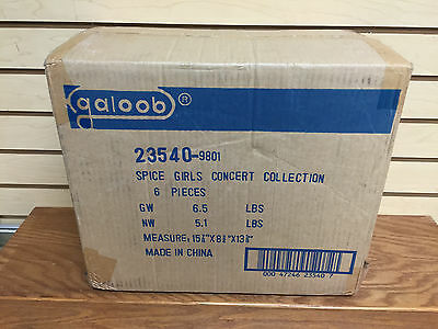 FACTORY SEALED CASE * 1998 galoob SPICE GIRLS Concert Collection Action Figures