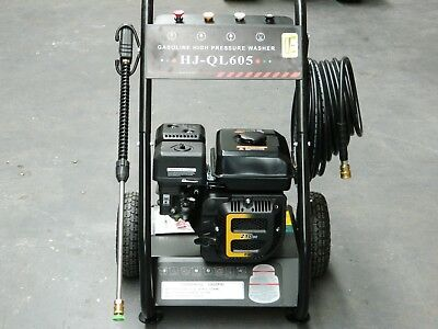 High Pressure Washer Cleaner 6.5HP Petrol Water Gerni Turbo Head Italian Pump