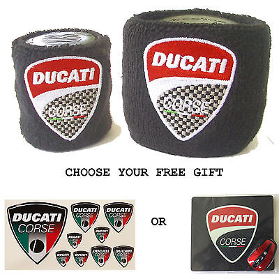 Ducati Reservoir Covers With Free Gift Sock Wristband Superbike Hypermotard 939
