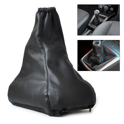 New Black PU Leather Gear Shift Gaiter For Vauxhall / Opel ASTRA MK5 H 2004-200