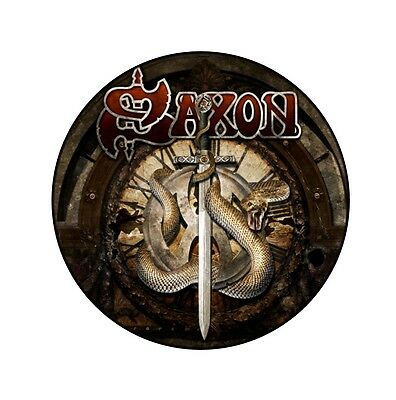 Parche imprimido /Iron on patch, Back patch, Espaldera /- Saxon, C