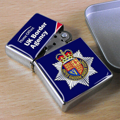 UK Border Agency Flip Top Lighter
