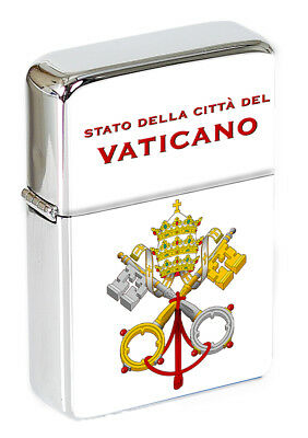 Vatican City Catholic/Pope Flip Top Lighter