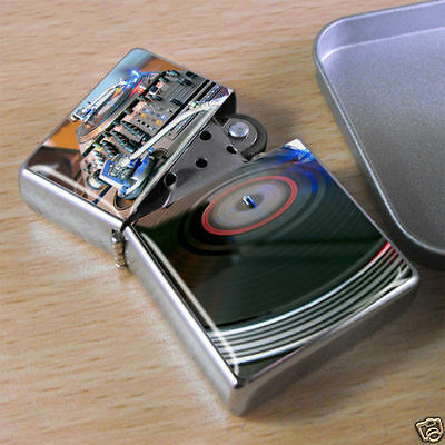DJ Decks Flip Top Lighter
