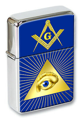 Masonic All Seeing Eye Flip top Lighter
