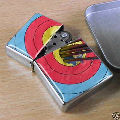 Archery Target Flip Top Lighter