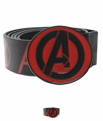 FASHION Marvel Avengers Cintura Uomo Black/Red