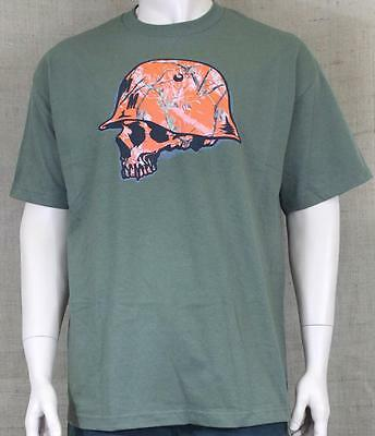 Metal Mulisha Realtree Camo Hunter Tee Mens Military Green Crew T-Shirt New NWT