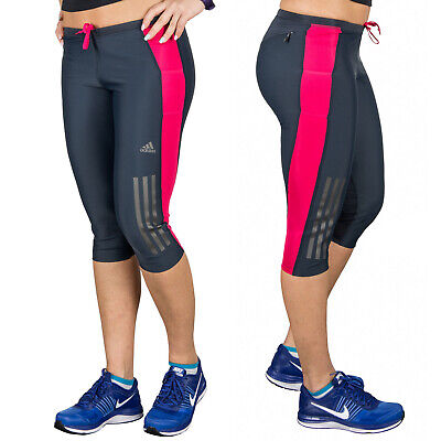 7d826806e Adidas Supernova Climacool 3 4 Tight Women s Training Running Fit Pants Xs  34