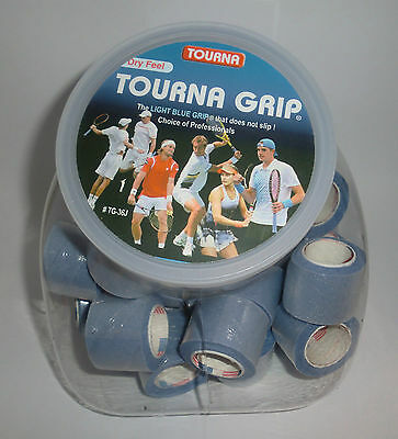 Tourna Grip 36 XL Overgrip Display Jar - Blue