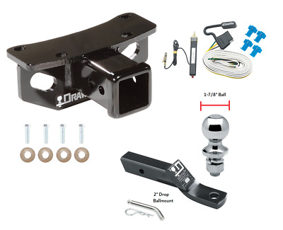 2010-2019 Lexus Gx460 Complete Trailer Hitch Package W/ Wiring Kit Ball & Mount