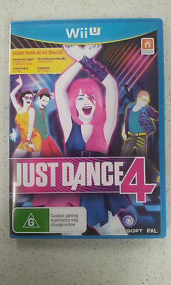 Just Dance 4 Wii U Game PAL (NEW)