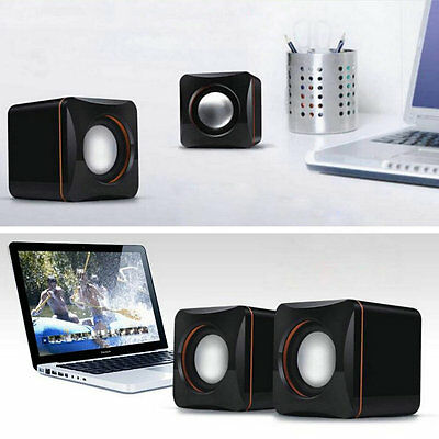 Mini Portable USB Audio Music Player Speaker for iPhone iPad MP3 Laptop PC FU0