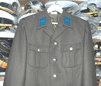 German Air Force Officers Parade Uniform Jacket With Lapel Insignia (F).