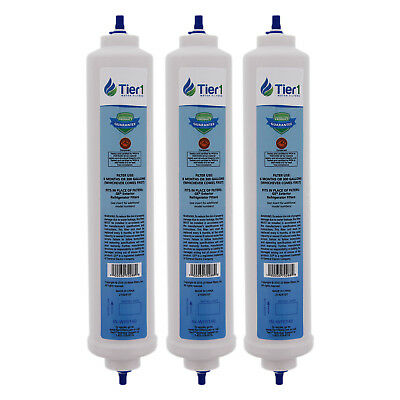 Fits GE GXRTDR Comparable Inline Water Filter 3 Pack
