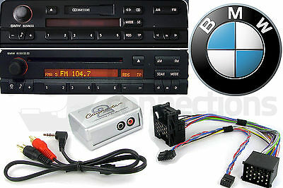 CTVBMX002 BMW 3 Series AUX interface adapter 1998-2002 E46 Business radio iPhone