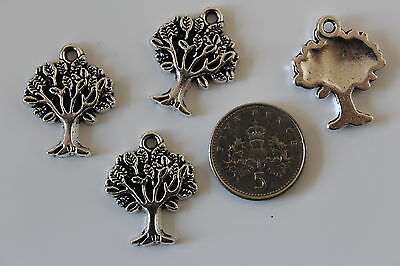 """10pc Tibetan Silver """"Tree of Life"""" Pendant Charms Accessories wholesale JP1227"""