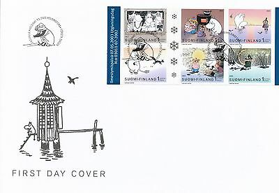 Finland 2003 FDC Sheet - Moomin Troll - Issued May 7, 2003