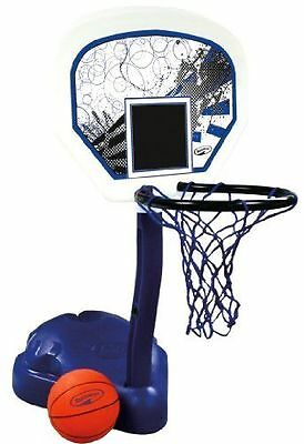 Poolside Basketball With Large Heavy Duty Backboard Free Shipping New