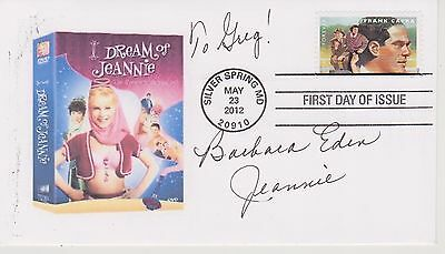 Signed Barbara Eden Fdc Autographed First Day Cover I Dream Of Jeannie