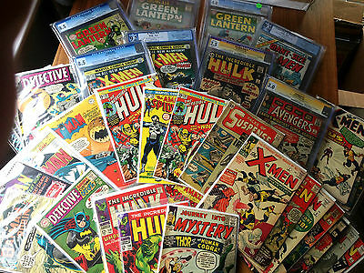 Smashing Grab Bag lot, Incredible Hulk, Captain America, Wolverine, X-men 181 1