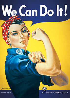 We can do It   Poster 91 x 61 cm