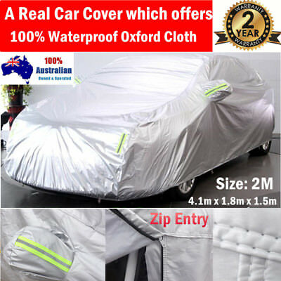Large SUV Car Cover Universal Fit 4x4 Sun UV Protection Double Thick Waterproof