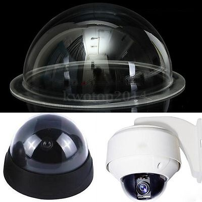 2/4/6/9 Inch Clear Acrylic Monitoring Camera Dome Housing Cover CCTV Replacement