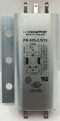 SCHAFFNER FN420-2.5/13 Filter 2.5A 420 Type 13 Connections