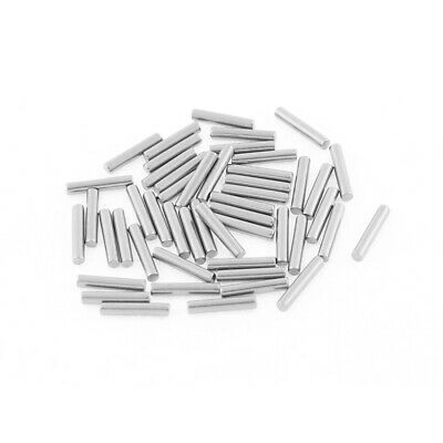 M1.5x8mm Stainless Steel Straight Retaining Dowel Pins Rod Fasten Elements 50pcs