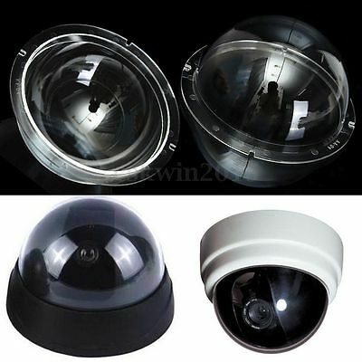 2/4/6/9 Inch Acrylic Outdoor / Indoor Camera Dome Cover Monitoring Replacement
