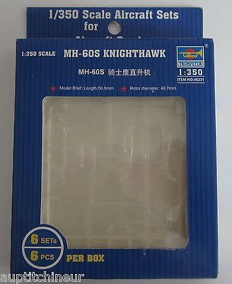 maquette 1/350 Aircraft 6 sets trumpeter 06231 MH-60 S knighthawk