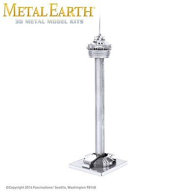 Fascinations Metal Earth Tower of the Americas Laser Cut 3D Model