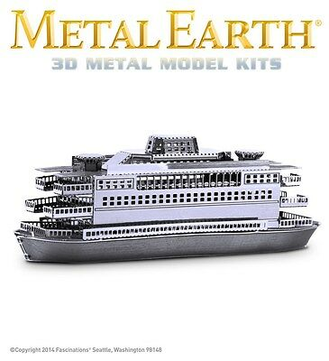 Fascinations Metal Earth Commuter Ferry Laser Cut 3D Model