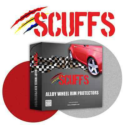 Black Scuffs by Rimblades Alloy Wheel Rim Protectors/ Rim Guards/Rim Tape