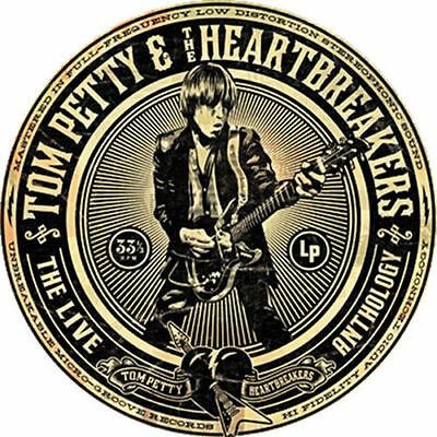 Parche imprimido /Iron on patch, Back patch/ - Tom Petty and the Heartbreakers