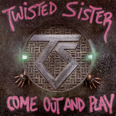 Parche imprimido /Iron on patch, Back patch/ - Twisted Sister, C