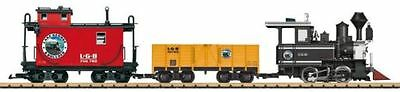 Lgb G Scale American Freight Train Starter Set | Bn | 72426