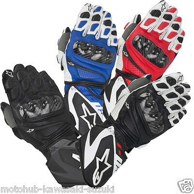 Alpinestars SP-1 Motorcycle Leather Gloves Bike Racing Track