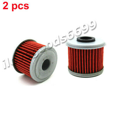 2x CRF250R Oil Filter For Honda HUSQVARNA TE 310 250 TC250R TXC CRF TRX250R 310R