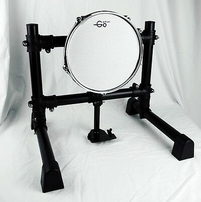 """10 inch Electronic Bass Pad with Stand / 10"""" Mesh Head Kick Drum Pad"""