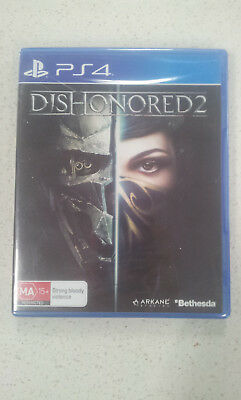 Dishonored 2 PS4 Game (NEW & SEALED)