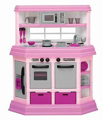 BRAND NEW! American Plastic Toy Deluxe Custom Kitchen (PINK) Kids Toddler Play