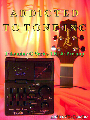 Takamine TK-40 TK40 G Series Acoustic Guitar preamp NEW Original Takamine Part