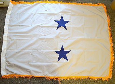 Us Rear Admiral Flag ( 2 Star ) Restricted Line Officers Flag
